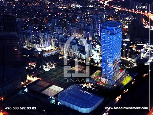 Hotel apartments project in Bahcesehir Istanbul